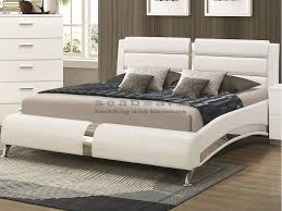 coaster 300345 felicity modern white bed with this stylish felicity queen bed in your home