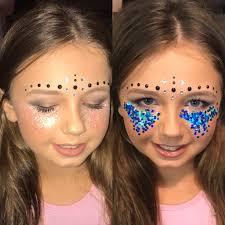 glitter makeup festival makeup makeup looks with glitter