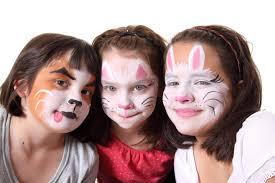 easy animal face paint for kids