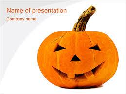 Halloween Pumpkin Powerpoint Template Backgrounds Google Slides