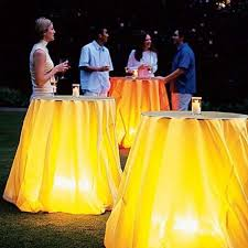 if you re having a summer barbecue lamp under covered table