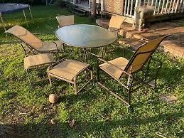 brown jordan patio furniture 7 piece