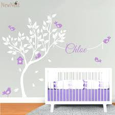 wall stickers for nurseries huge white tree wall decal vinyl sticker nursery tree wallpaper baby bedroom