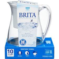 brita water filter pitcher. Exellent Water Brita Monterey Water Filter Pitcher 10 Cup Various Colors For Pitcher