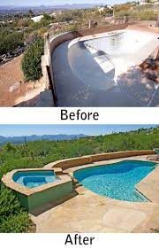 tucson pool renovation and spa addition