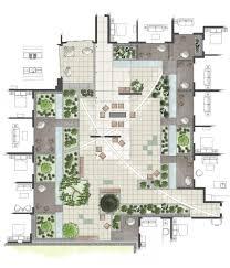terrace garden design plans best of intensive residential green roof rendered roof garden plan models