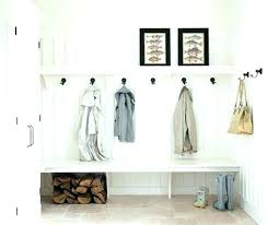 Built In Coat Rack Awesome Diy Built In Coat Rack Bench Diy Entry Bench With Coat Rack Racks
