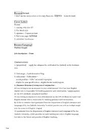 Resume Letter Example Resume Example Professional Resume Cover ...