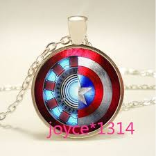 iron man arc reactor and star glass dome silver necklace jewelry 794