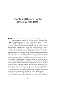 supply and demand in the oncology workforce ensuring quality page 13