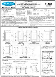 Bobrick Phenolic Color Chart Bobrick Phenolic Reinforced Composite Wall Privacy