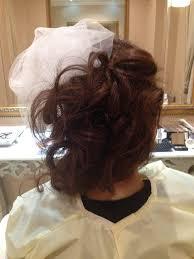 結婚式ヘアメイクリハーサルカラードレスお色直し編髪型もメイクも