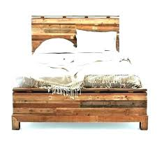 reclaimed wood queen bed – latinity.co