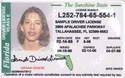 Id A License National Driver's Card De Uniform Facto