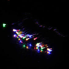 Battery Operated Christmas Lights Glow Party Supplies 1m String Christmas Fairy Light 10 Led Battery Operated Xmas Lights Party Wedding Lamp 2018 Dropshipping