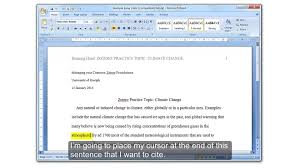 Zotero 3 Getting Started With Zotero Inserting Citations Into Word