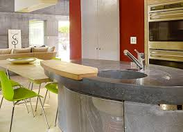 kitchen concrete countertop gallery