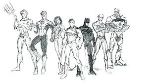 Justice League Coloring Page Free Justice League Printable Coloring