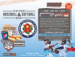 Redlands Baseball Softball For Youth