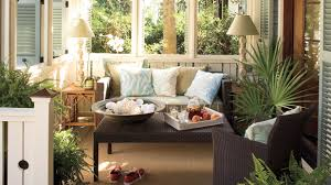 Southern Living Living Room An Outdoor Living Room Nautical Coastal Home Decor Southern Living