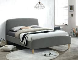 Grey Tufted Bed Grey Tufted Queen Bed Upholstered Queen Bed Panel ...