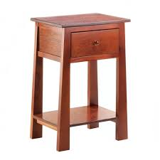 small contemporary craftsman accent table