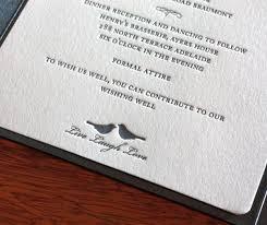 the wedding dress code breakdown letterpress wedding invitation blog Wedding Invitation Dress Code Formal loving birds letterpress black tie wedding invitation the dress code wedding invitation dress code formal