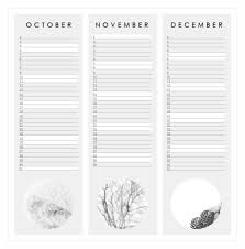 Life As A Moodboard Printable Calendar For 2015 Happy New Year