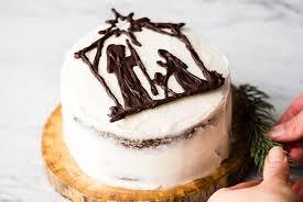 Nativity Cake Birthday Cake For Jesus Joyfoodsunshine
