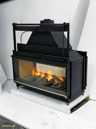wood burning fireplace glass doors elegant double sided wood burning fireplace insert with blower