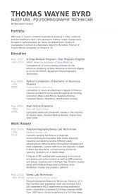 Download Lab Technician Resume