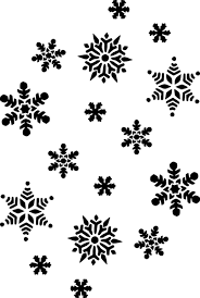 black and white snowflake pattern. Beautiful Black Black And White Patterns  Snowflakes Silhouette Clip Art  Vector  Online Royalty Free  With Black And White Snowflake Pattern Pinterest
