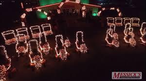 Messicks Light Show 2015 Tractor Light Show Gary Hoey God Rest Ye Merry Gentlemen
