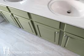 how to paint a vanity
