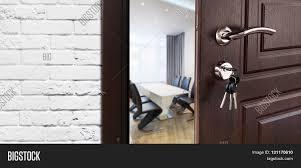 office door lock parts. Half Opened Door To A Cabinet Or Office. Handle, Lock. Lounge Office Lock Parts