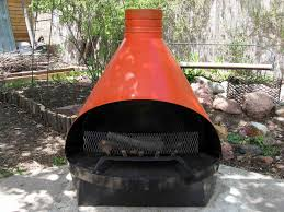 outdoor fireplace metal