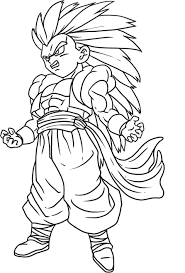 Dragon Ball Z Coloring Pages Super Saiyan 5 For Photos Of Goku And