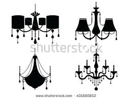 simple chandelier silhouette vector chandelier silhouette royalty free