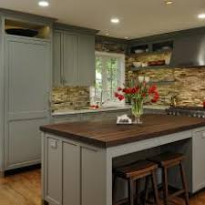 l shaped kitchens with islands. Wonderful Shaped LShaped Kitchen With Walnut Island Top Inside L Shaped Kitchens Islands