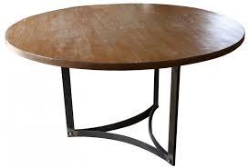 custom reclaimed wood dining table plans modern reclaimed round shape dining table with rod square