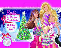 Image - Barbie A Perfect Christmas Holiday Activity Pad Book.png ...