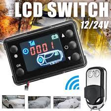 bbyes  New <b>12V</b>/<b>24V LCD Monitor Switch</b> + Remote Control Car ...