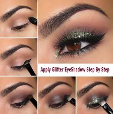 pretty glitter eye makeup tutorial