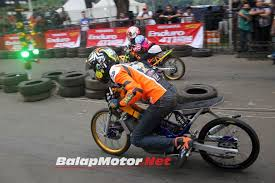 setelah road race racing line support tim dan pembalap drag bike