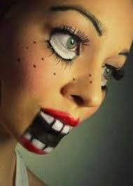 37 scary face makeup ideas you ll want to try is terrifying