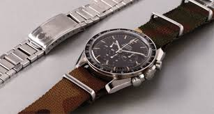 Omega A Rare And Very Attractive Stainless Steel
