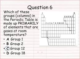 Starter: What did you not understand about the Periodic Table Test ...