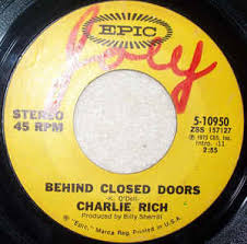 Charlie Rich Behind Closed Doors A Sunday Kind Woman Vinyl