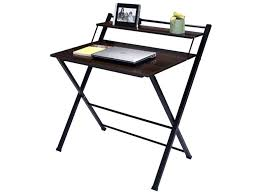 2 tier folding computer desk home office furniture workstation table study india stud