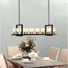 wood rectangular chandelier chandeliers eurofase 26365 cesto 7 light full size
